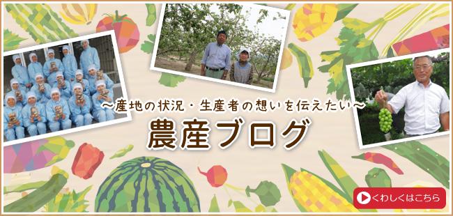~産地の状況・生産者の想いを伝えたい~農産ブログ